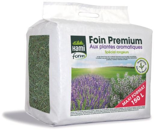 Foin Premium Plantes Aromatiques 150 ml Hami Form