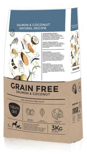 Cereal Free Salmon & Coconut 12 KG Natura Diet