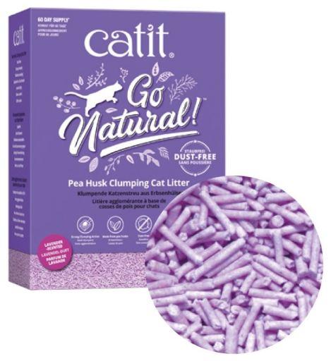 Go Natural! Coquilles de pois de sable Arôme de lavande 5.6 kg Catit