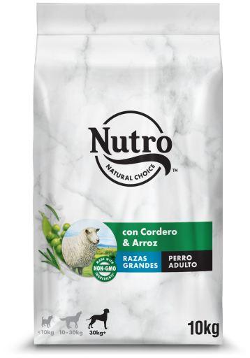 Nourriture naturelle pour grands chiens d'agneau 10 KG Nutro