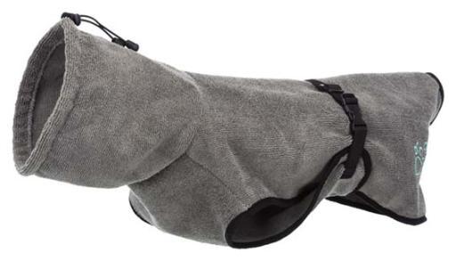 Peignoir gris 70 cm Trixie