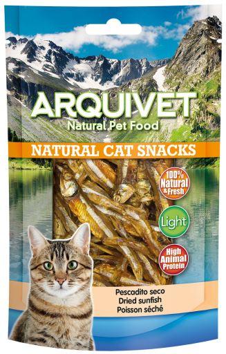 Snack pour chat - Snack de poisson sec 50 GR Arquivet