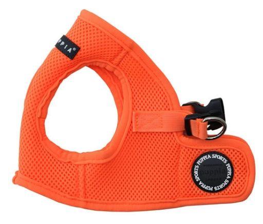 Gilet souple néon orange S Puppia