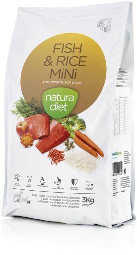 Fish & Rice Mini 3 Kg Natura Diet