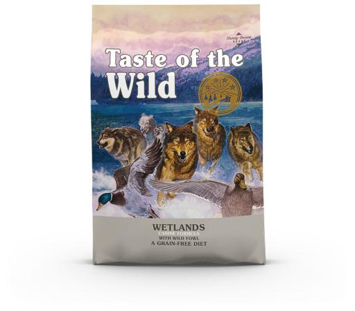 Wetlands Farine de Canard pour Chiens 12.2 kg Taste of the Wild