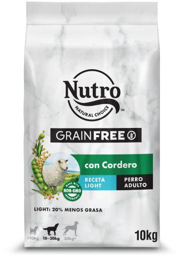 Natural Medium sans Grain, Farine d'Agneau Légère pour chiens de