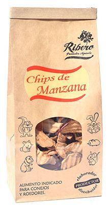Chips de pomme 100 gr Ribero