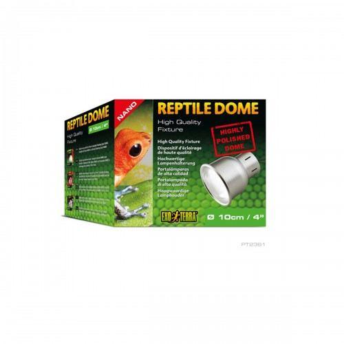 Support d'ampoule Dôme Reptile Nano, 10cm 310 gr Exo Terra