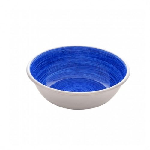 Mangeoire antidérapante en acier inoxydable Blue Swirl 950 ml Dogit