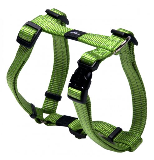 Plain Nylon Harness Green