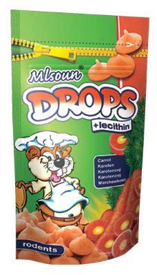 Drops carotte 75 GR Novopet
