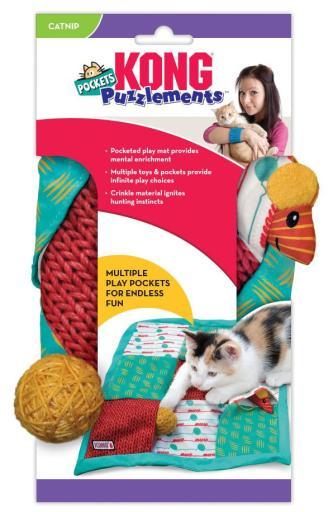 Poches pour chats Puzzle 92 gr KONG