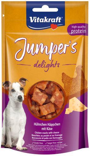 Jumpers Delights Poulet et fromage 80 GR Vitakraft
