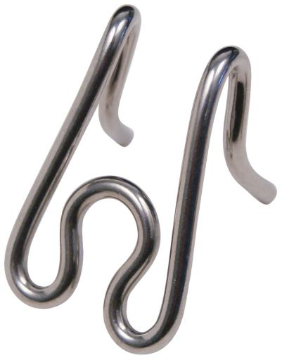 Pointe de rechange d'entraînement à pointes en acier inoxydable 4cm