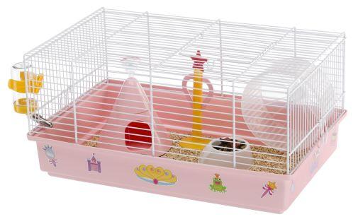 Criceti 9 Princesse Cage Blanc 46x29.5x23 Ferplast