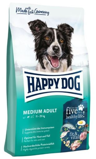 fit & vital Medium Adult 4 KG Happy Dog