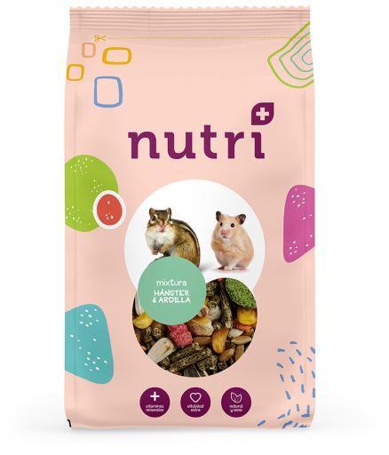 Rongeurs Rongeurs Mixte Hamster et Ecureuil 4.3 kg Nutriplus