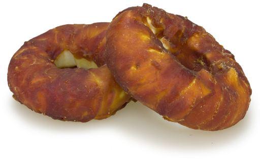 Snacks für Hunde Chewy-Hunderinge mit Ente