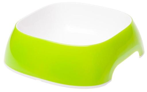 Mangeoire en plastique vert glamour 12 cm Ferplast