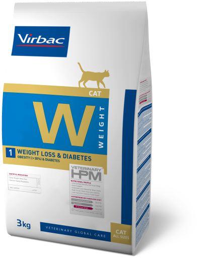 Veterinary HPM W1 weight loss & diabetes 3 Kg HPM