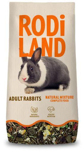 Mélange pour lapins adultes 3 Kg Rodiland