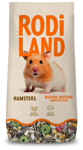 Mélange naturel pour hamster 800 GR Rodiland