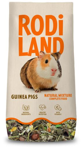 Mélange pour les cochon d'Inde 3.8 kg Rodiland