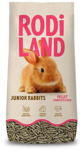 Alimentation complète Granulés pour lapins Junior 800 GR Rodiland