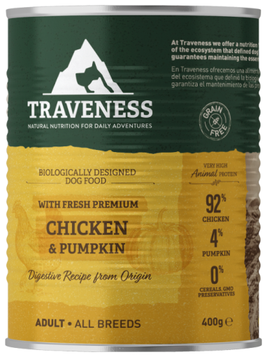 Chicken with Pumpkin Wet Dog Food