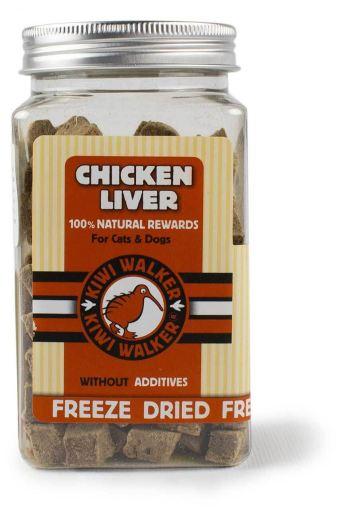 Snack de foie de poulet lyophilisé 130 GR Kiwi Walker