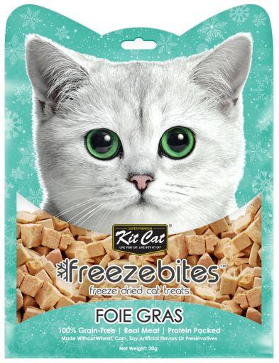 Bouchées de foie de canard congelées 20 GR Kit Cat