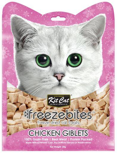 Bouchées de foie de poulet à congeler 20 GR Kit Cat