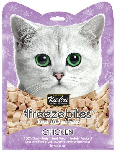 FreezeBites au poulet 15 GR Kit Cat