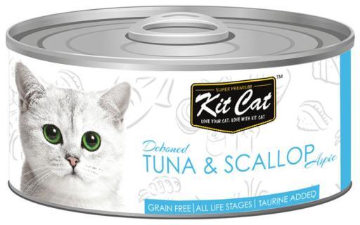 Thon et pétoncle 80 GR Kit Cat