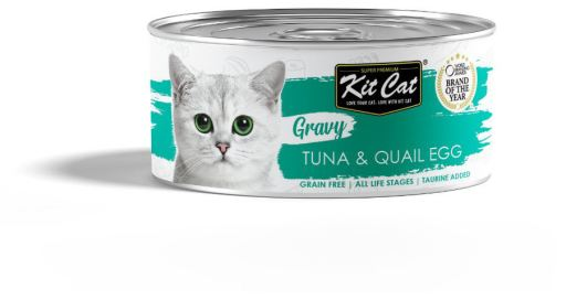 Sauce au thon et aux ufs de caille 70 GR Kit Cat