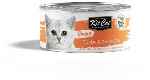 Sauce au thon et au saumon 70 GR Kit Cat
