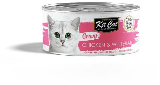 Sauce au poulet et à la lotte 70 GR Kit Cat