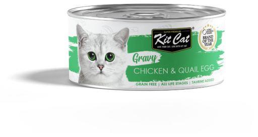 Sauce au poulet et aux ufs de caille 70 GR Kit Cat