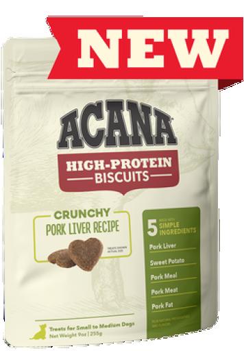 Snacks de foie de porc pour chiens 100 gr Acana