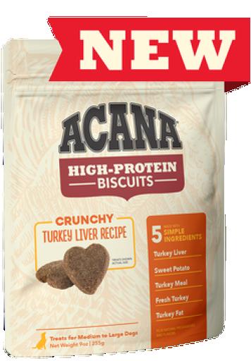 Snacks de foie de dinde pour chiens 100 gr Acana